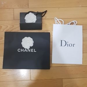 Custom gift bag listing-- 2 Chanel 1 Dior